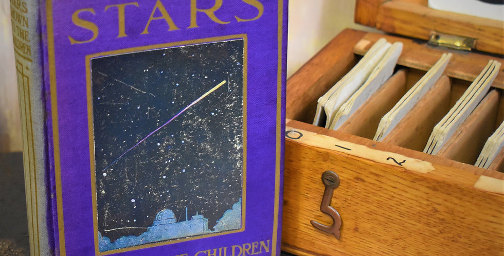 Antique 1910 Stars Shown to Children Planets Stars Colour Plates First Edition