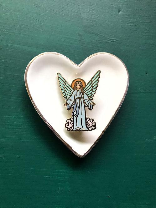 Guardian Angel Enamel Pin