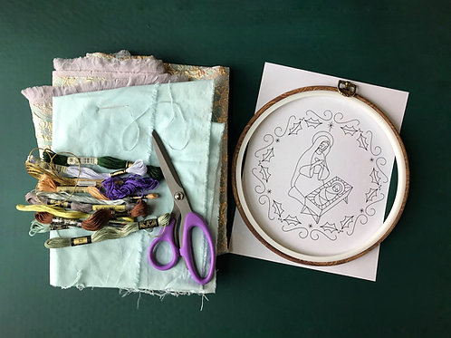 Advent 2020 Embroidery Pattern PDF