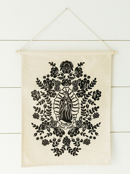 Our Lady of Guadalupe Canvas Banner