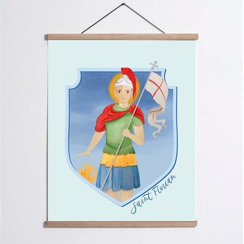 Saint Florian Print | Digital Download