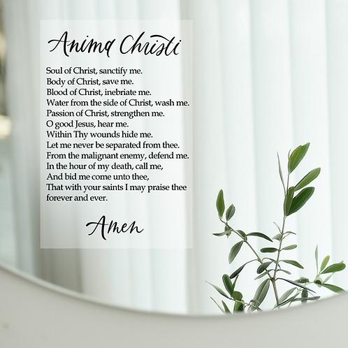Wholesale Anima Christi Static Cling