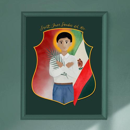 Saint Jose Sanchez del Rio Print | Digital Download