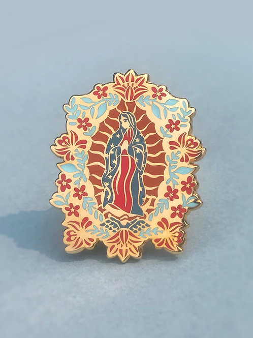 Seconds Pins | Our Lady of Guadalupe