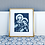 Thumbnail: Cyanotype Mary and Jesus Print