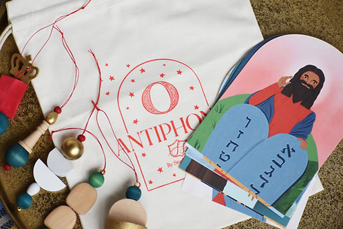 O Antiphon Ornament Set and Decorative Cards