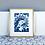 Thumbnail: Cyanotype Madonna Print