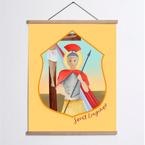 Saint Longinus Print | Digital Download