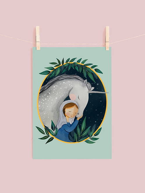Mary and the Unicorn | Digital Download