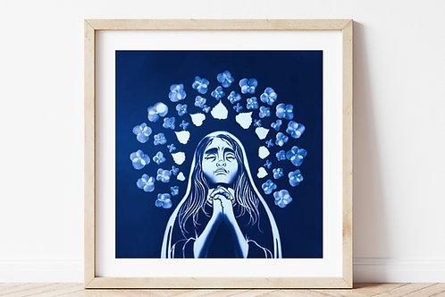 Sorrowful Mary Print