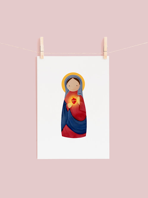 Immaculate Heart Peg Mary