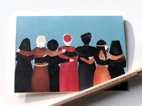 """Wholesale """"United"""" Saint Blank Note Cards"""