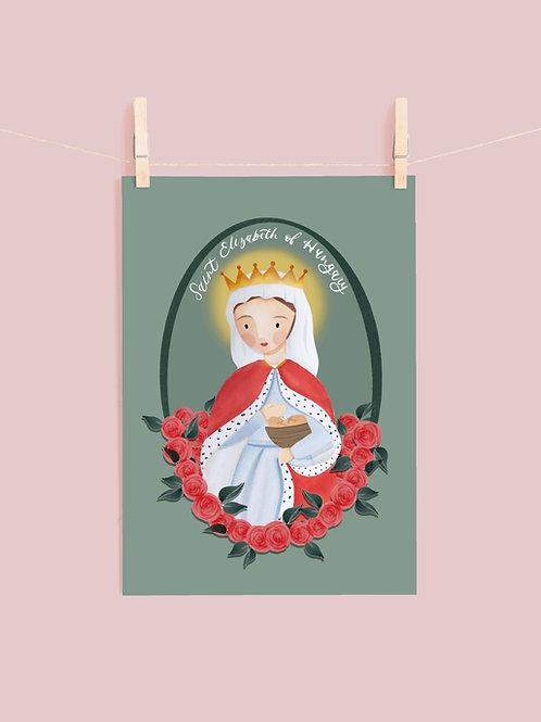 Saint Elizabeth of Hungary | Digital Download