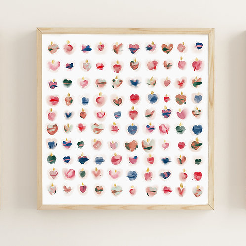 Wholesale Abstract Sacred Heart Grid