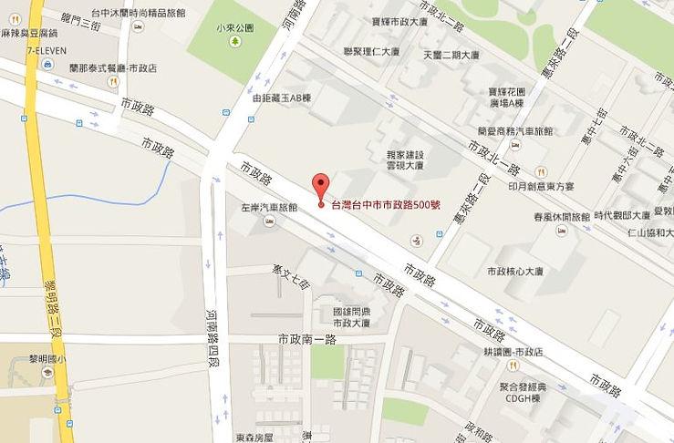 楽房Google map