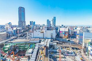 渋谷駅周辺開発中