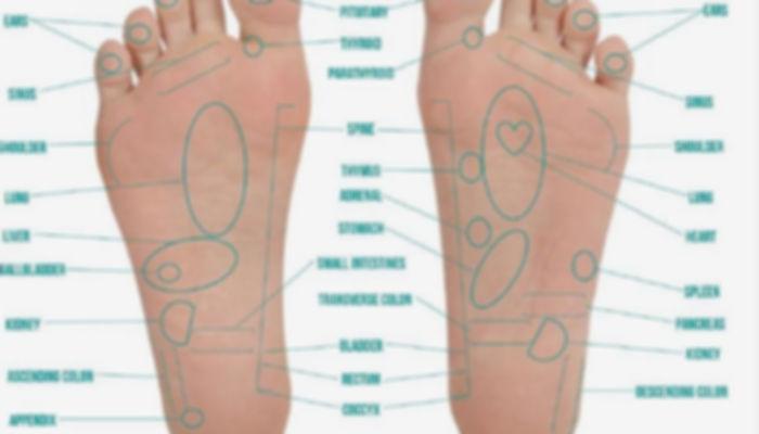 Vitaflex foot chart