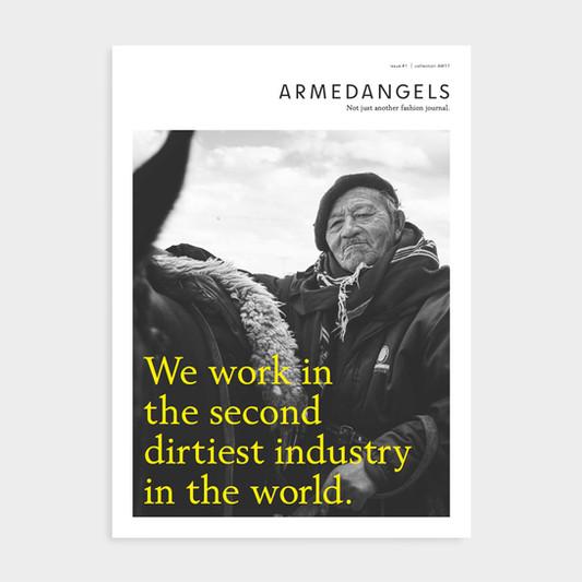 Art Direction: ARMEDANGELS Newspaper #01