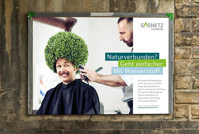 Art Direction & Campaigning for GASNETZ HAMBURG