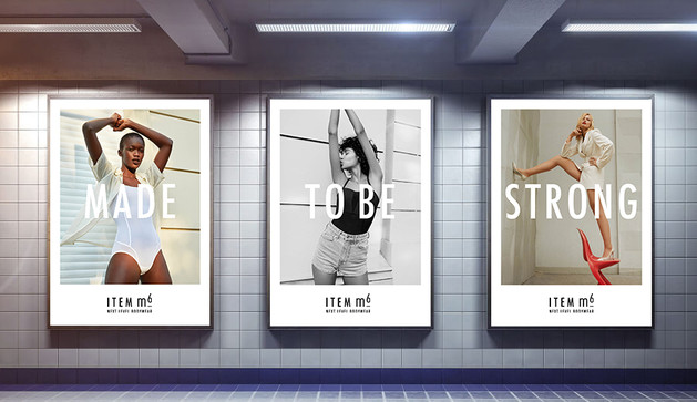 Art Direction & Campaigning for ITEMm6