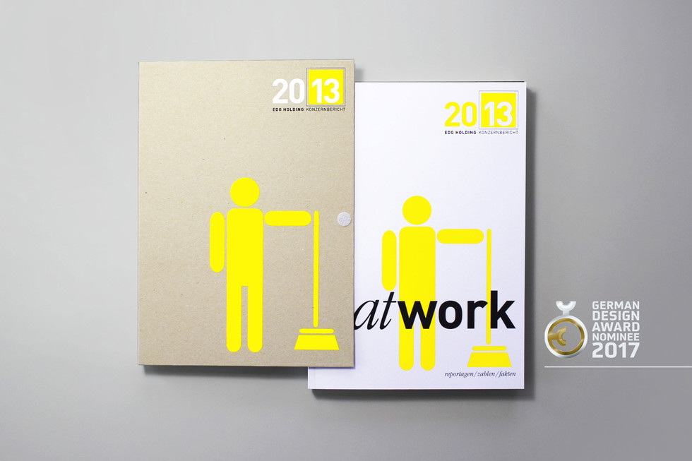 Design & Layout of the EDG Annual Report