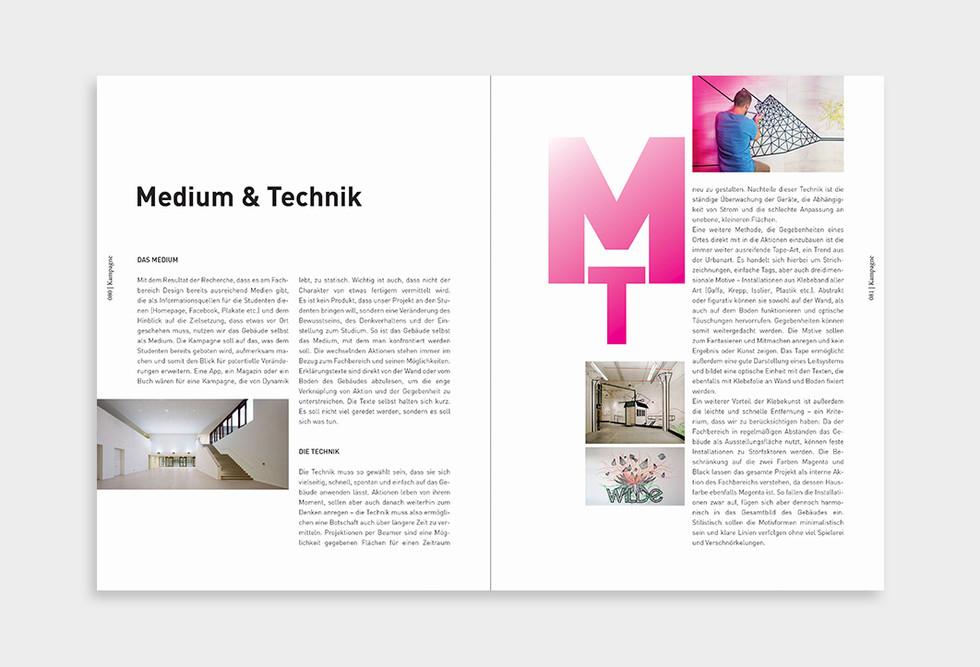 Documentation for the School of Design, Münster
