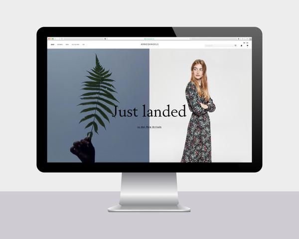 Landingpages & Webdesign for ARMEDANGELS