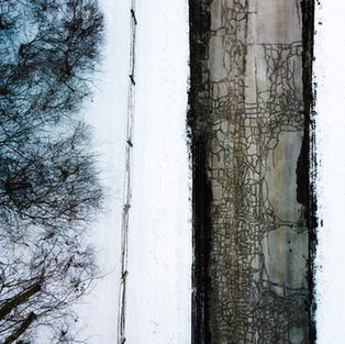 Snowy Street Flyover