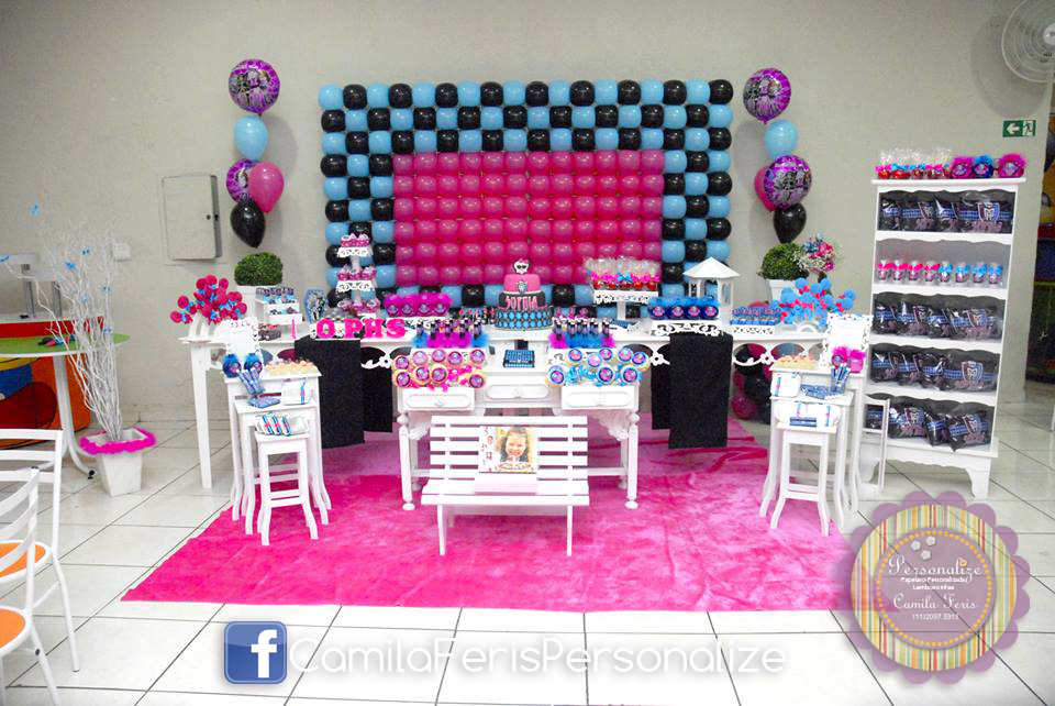 festa monster high personalizada