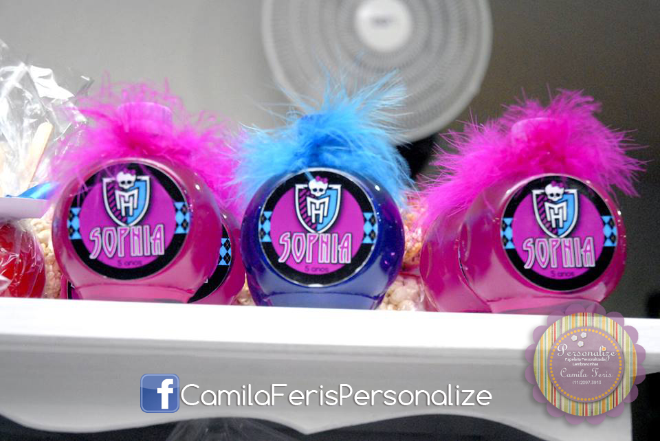aguas personalizadas monster high