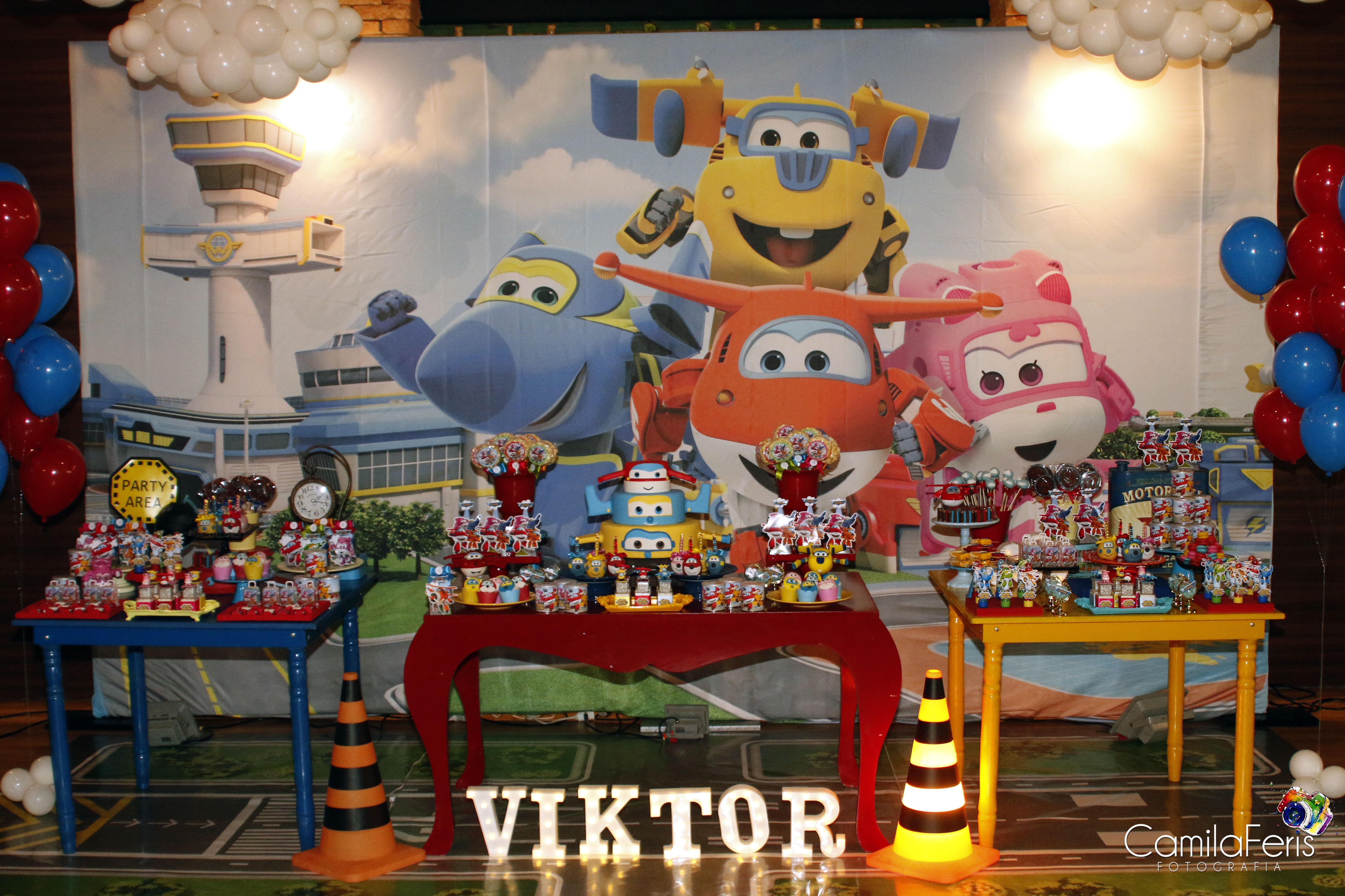 mesa personalizada super wings