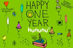 ONE-YEAR-KUNUNU