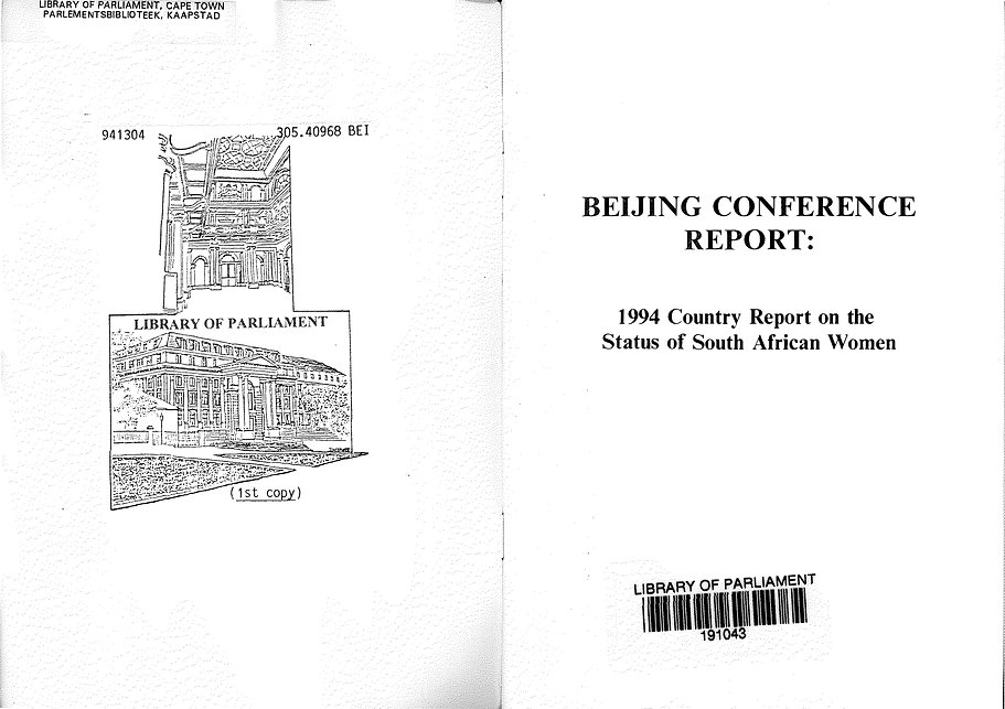 Report_1994_Beijing Conference Report_Na