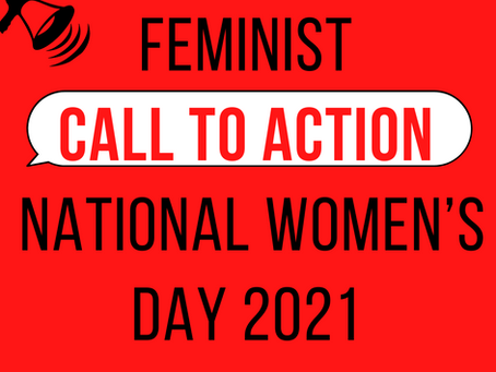 Feminist Call to Action: Use your power to help create the world of our dreams