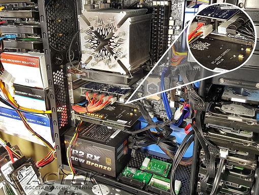 PC3000 восстановление инфо