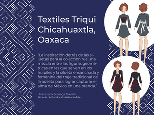 Textiles Triqui en Chicahuaxtla, Oaxaca