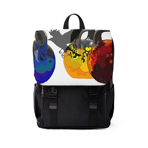 Kettlebell fly Unisex Casual Shoulder Backpack