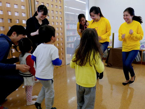 ダンス(お話会イベントボランティアから)