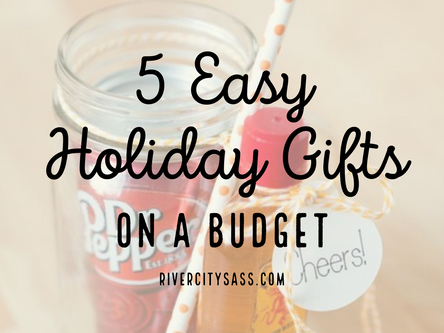 Top 5 Easy and Inexpensive DIY Holiday Gifts