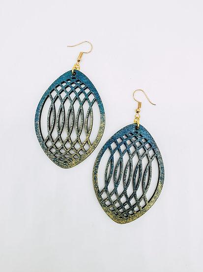 Lattice Dangle Earrings