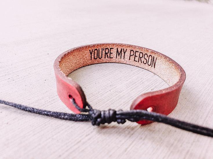Personalized Hidden Message Bracelet