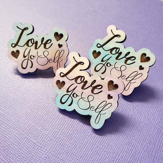 Love Yoself Pin