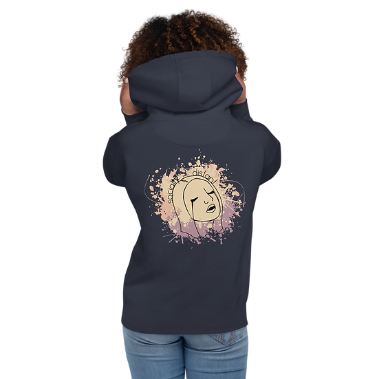 Socially Distant Premium Pullover Hoodie