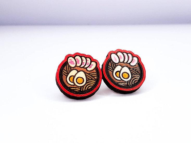 Miniature Ramen earrings