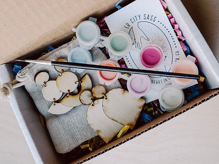 Paint At Home Earring Kit