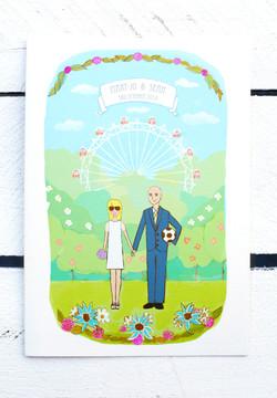 Northern Ireland Wedding Stationery