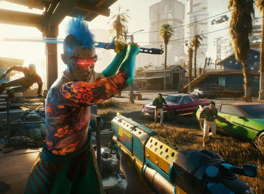 Cyberpunk 2077 chega ao Google Stadia no mesmo dia que PC, PS4 e Xbox One