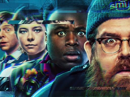 Truth Seekers na SDCC   Série com Simon Pegg e Nick Frost ganha trailer