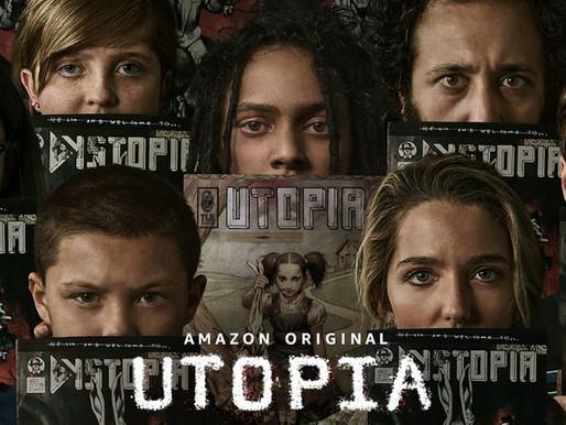 'Utopia' na SDCC   Uma pandemia cômica ganha vida no trailer da Amazon