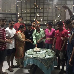 Addiction Recovery Birthday celebration at Mehar Foundation Panchkula